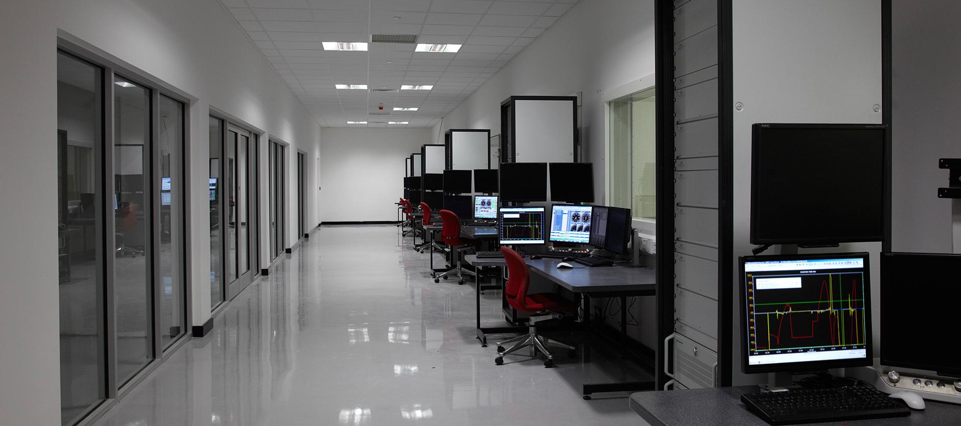 Test Control Hallway