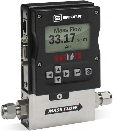 SmartTrak 100 flowmeter for highly accurate gas mass flow control