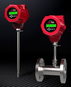 QuadraTherm thermal mass flow meter