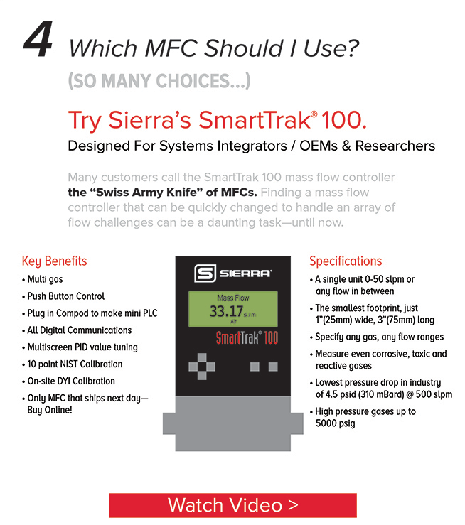 SmartTrak 100 is the Swiss Army knife of MFCs. Watch Video.