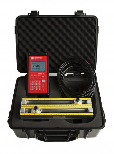 portable ultrasonic flow meter ease of set up