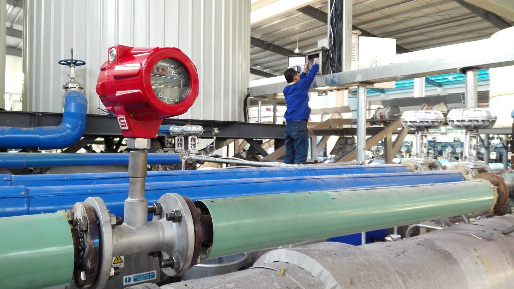 Vortex Flow Meter for Steam Measurement