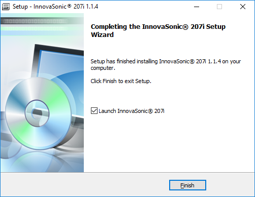 InnovaSonic 207i Install Wizard screen 7