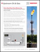 Flare gas mass flow meter application tech note