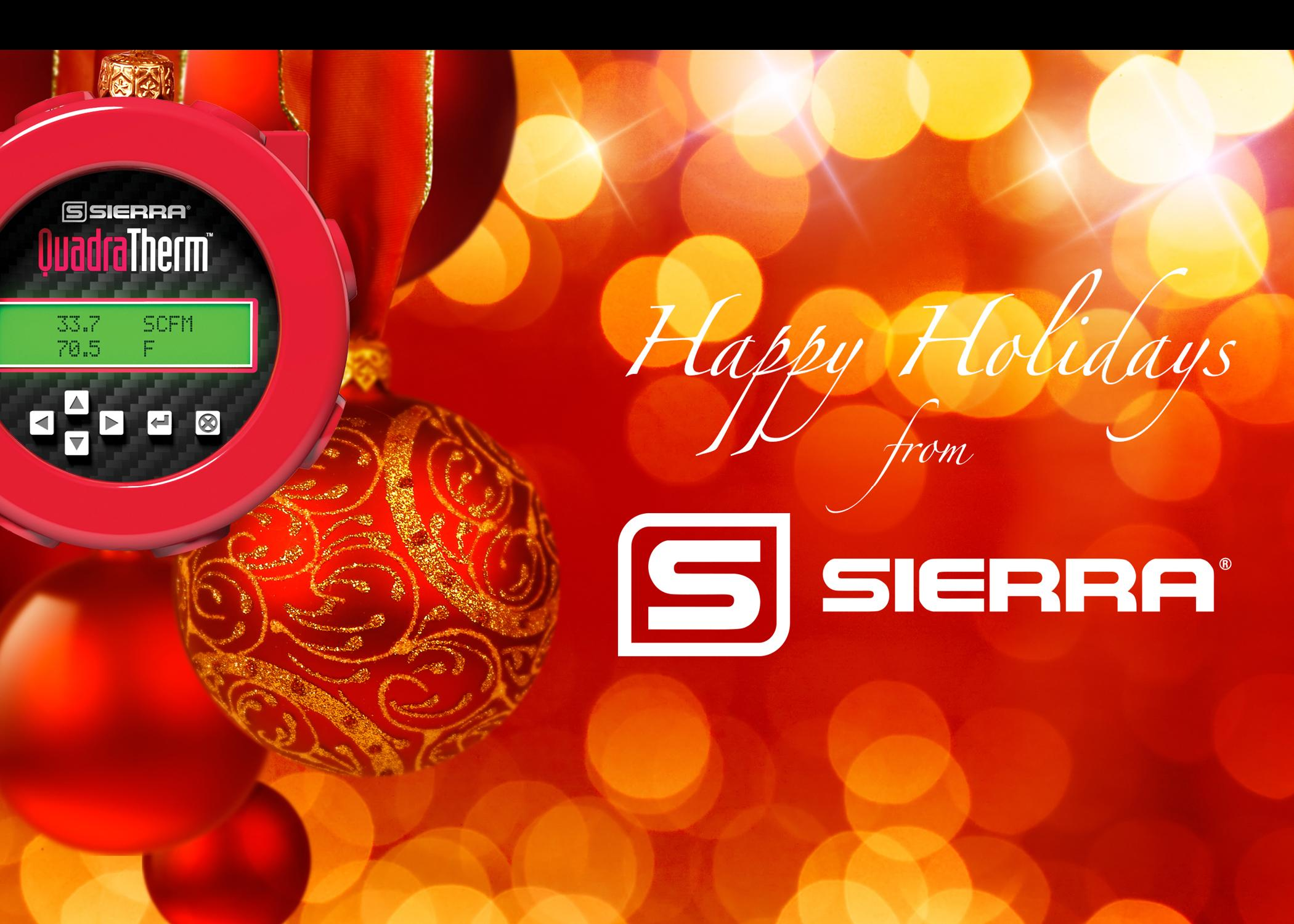 Happy Holidays From Sierra