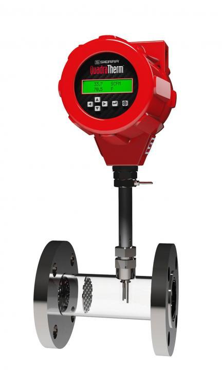 Inline Gas Flow Meter : Air flow measurement in line measurementequipment