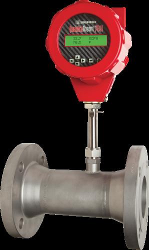 Inline Gas Flow Meter : Inline mass flow meter quadratherm i