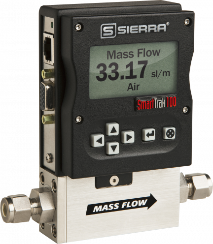Digital Mass Flow Meters & Controllers - SmartTrak 100