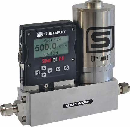 Ultra-Low Pressure Mass Flow Controller - SmartTrak 14