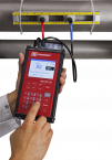 Clamp-On Portable Ultrasonic Flow Meter - InnovaSonic 210i