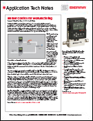 Burner Control application tech note
